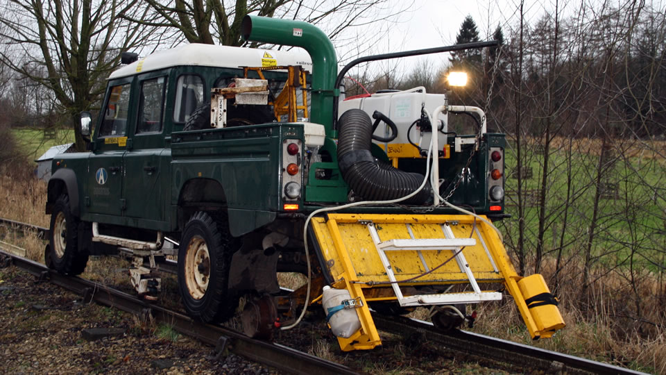 Sand Truck Conversion for Network Rail
