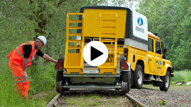 Road Rail Plant Trailer Video