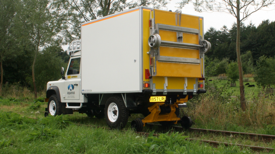 Welding R2R 4x4  with a Load Tray Extension loaded on back
