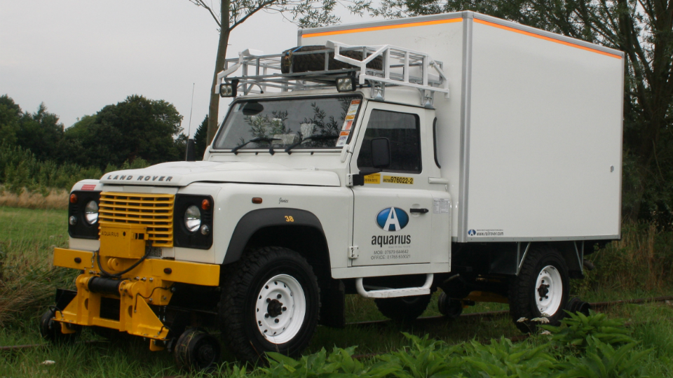 Welding R2R 4x4 Vehicle