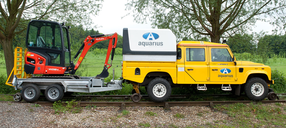 Aquarius Railroad Technologies Road Rail Plant Amp Vehicle