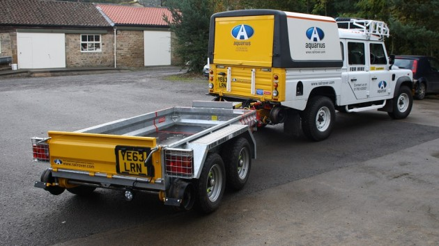 Network Rail Product Acceptance for our R2R Plant Trailer