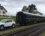 Land Rover Discovery Sport Pulls 100-tonne Train