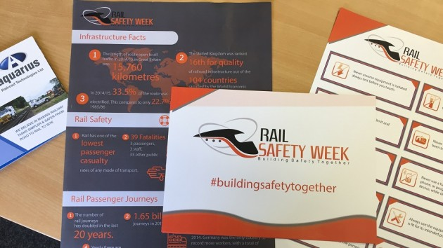 Rail Safety Week 26th September to 2nd October 2016