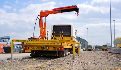 """The R2R Trailer with Crane Attachment has the potential to save future generations from back injuries""*"