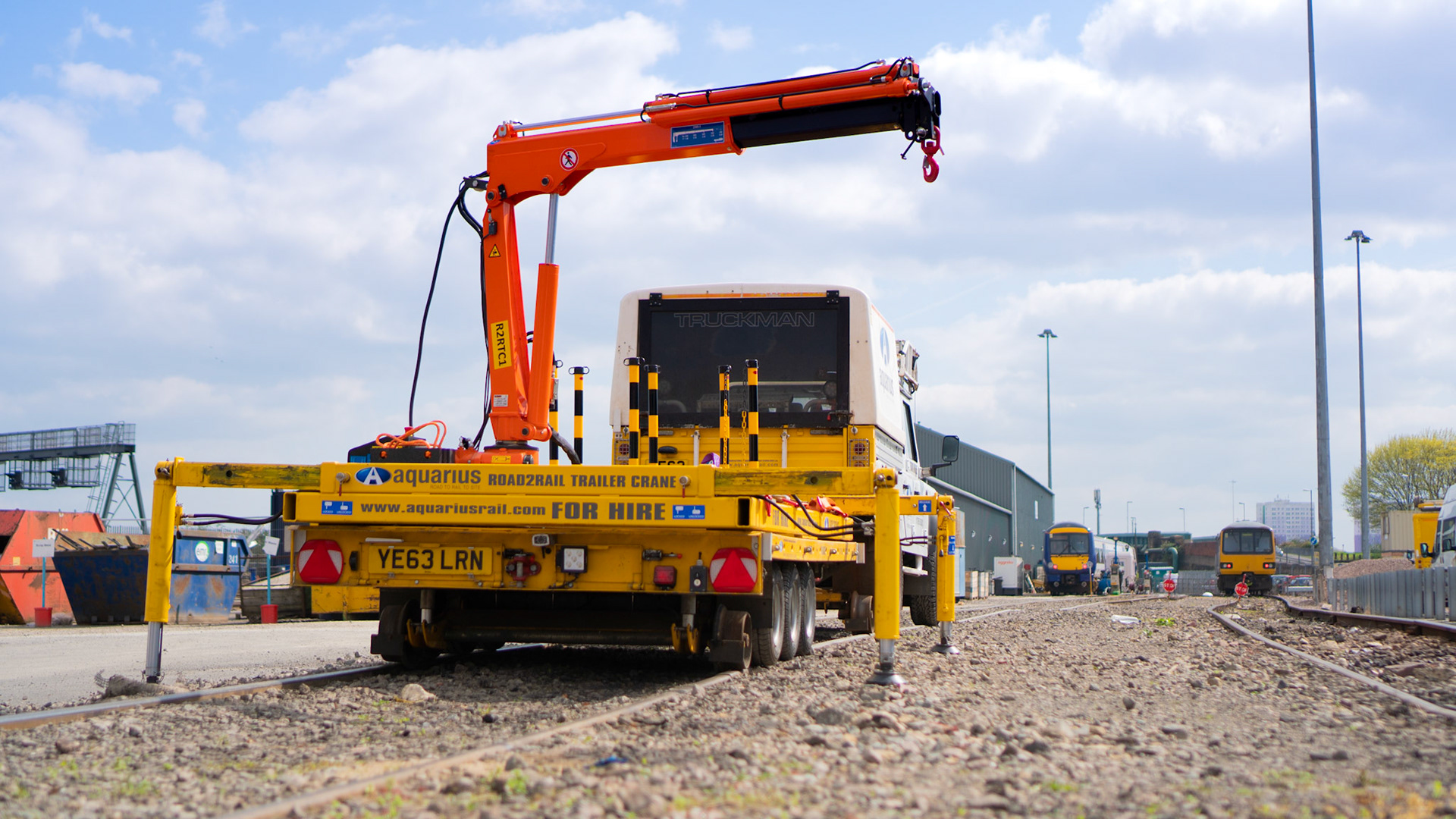 """""""The R2R Trailer with Crane Attachment has the potential to save future generations from back injuries""""*"""