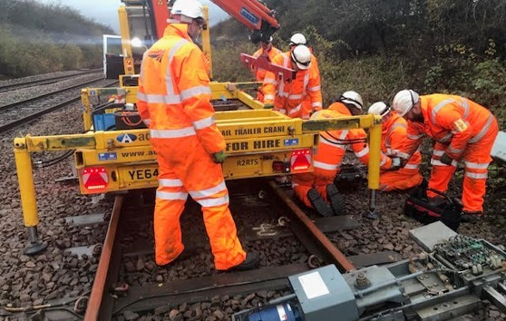 How Network Rail Rapidly Respond using our vehicles. A Case Study