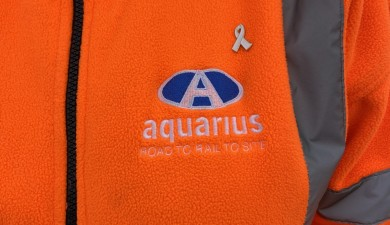 Aquarius Rail supports White Ribbon UK