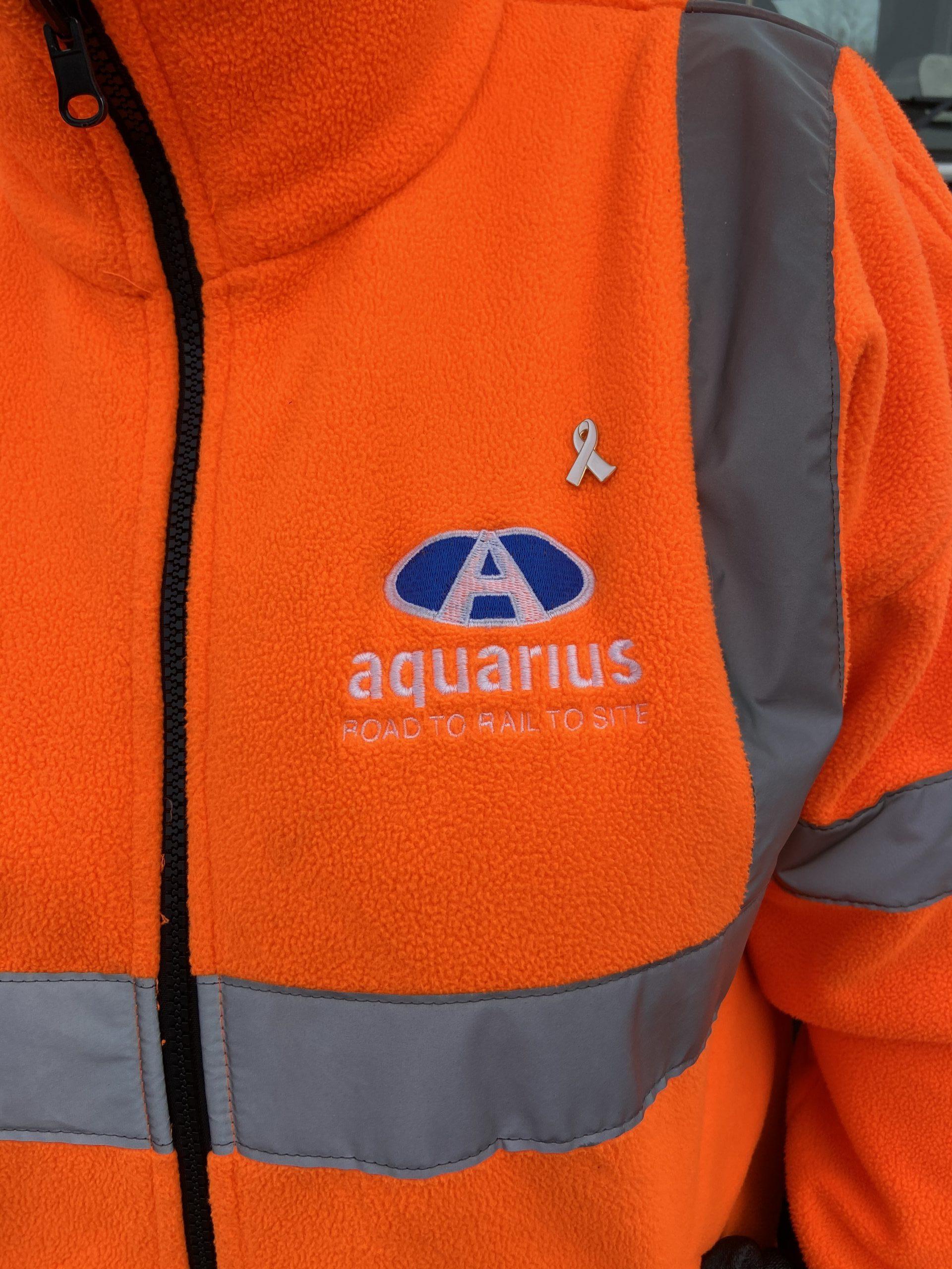 Aquarius Rail supports White Ribbon UK