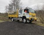 Aquarius Rail add 'Kevin' the R2R Canter to their hire fleet!