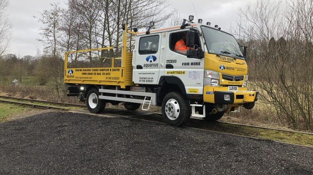 Aquarius Rail add 'Kevin' the R2R Canter to their hire fleet!